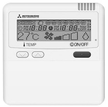 mitsubishi heavy industries air conditioner remote control manual