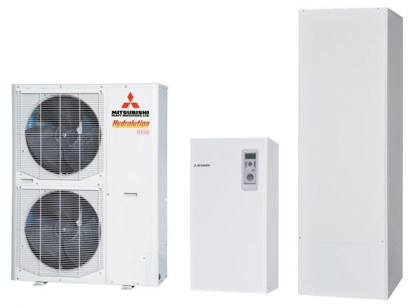 Термопомпи въздух-вода  от Мицубиши