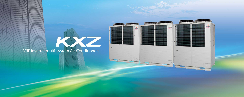 Системи за централна климатизация, Mitsubishi Heavy Industries, KXZ