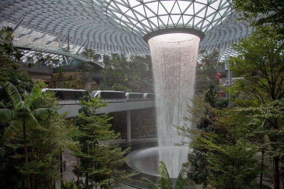 азия, чанги, летище чанги, сингапур, авиация